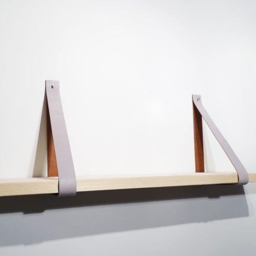 leren plankdrager wandplank beton