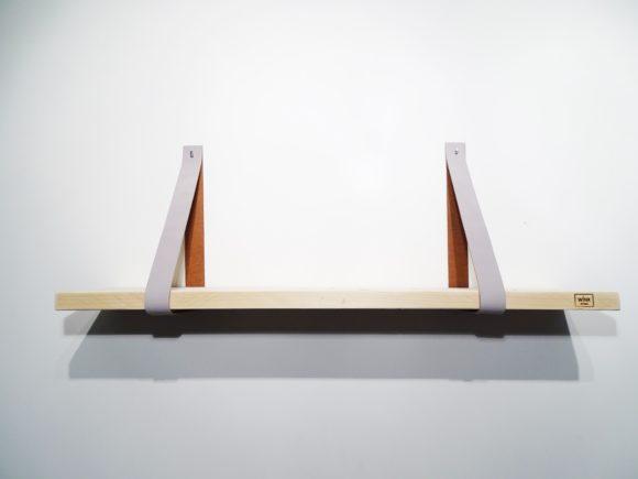 wandplank leren plankdragers beton