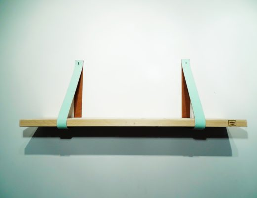 leren plankdragers mint