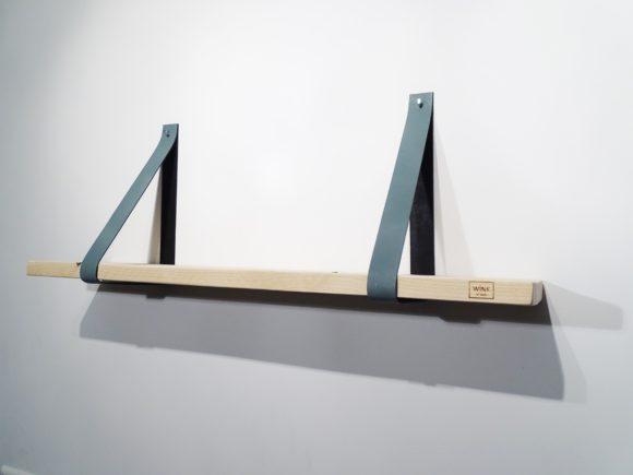 wandplank leren plankdragers lood