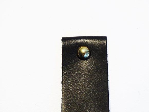 handdoekring zwart goud