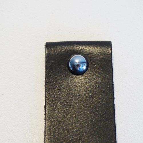 handdoekring zwart zilver bol