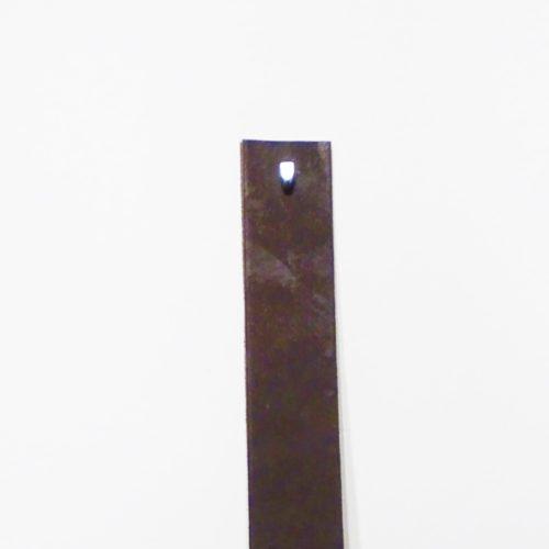 leren plankdragers bruin