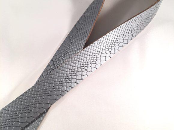 leren plankdragers python grijs
